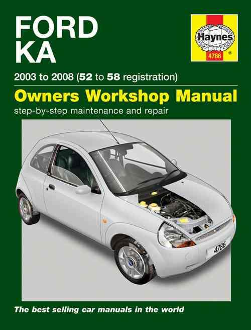 Ford Ka Petrol 2003 - 2008 Haynes Owners Service & Repair Manual - Front Cover