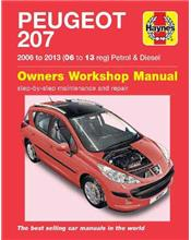 Peugeot 207 (Petrol & Diesel) 2006 - 20013 Haynes Owners Service & Repair Manual