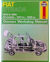 Fiat Strada 1979 - 1980 Haynes Owners Workshop Manual