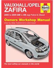 Vauxhall / Opel Zafira Petrol & Diesel 2005 - 2009