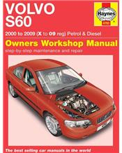 Volvo S60 Petrol & Diesel 2000 - 2009 Haynes Owners Service & Repair Manual