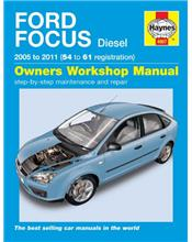 Ford Focus (LS) Diesel 2005 - 2011 Haynes Owners Service & Repair Manual