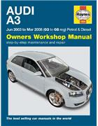 Audi A3 Petrol & Diesel 2003 - 2008 Haynes Owners Service & Repair Manual