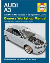 Audi A3 (Petrol & Diesel) 2003 - 2008 Haynes Owners Service & Repair Manual