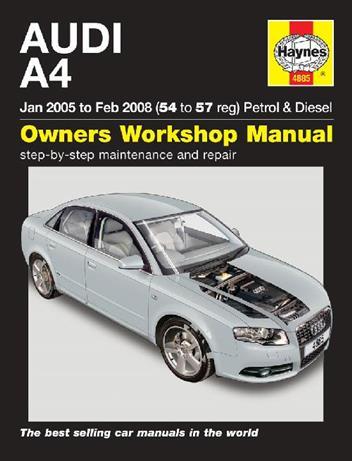 2007 audi a4 service manual
