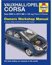 Vauxhall / Opel Corsa (Holden Barina) Petrol & Diesel 2006 - 2010