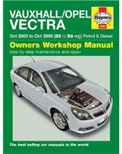 Vauxhall/Opel Vectra (Holden) Petrol & Diesel 2005 - 2008