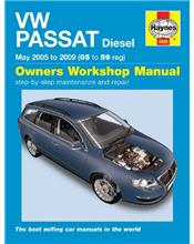 VW Volkswagen Passat Diesel 2005 - 2010 Haynes Owners Service & Repair Manual