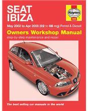 Seat Ibiza Petrol & Diesel 2002 - 2008 Haynes Owners Service & Repair Manual