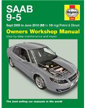 Saab 9-5 Petrol & Diesel 2005 - 2010 Haynes Owners Service & Repair Manual