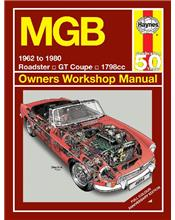 MGB & GT 1962 - 1980 Haynes Owners Service & Repair Manual