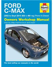 Ford C-Max Petrol & Diesel 2003 - 2010 Haynes Owners Service & Repair Manual