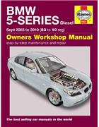 BMW 5 Series E60 & E61 Diesel 2003 - 2010 Haynes Owners Service & Repair Manual