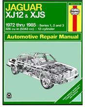 Jaguar XJ12, XJS, XJSC Cabriolet 1972 - 1985