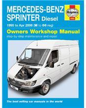 Mercedes-Benz Sprinter Diesel 1995 - 2006 Haynes Owners Service & Repair Manual