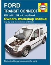 Ford Transit Connect Diesel 2002 - 2011 Haynes Owners Service & Repair Manual
