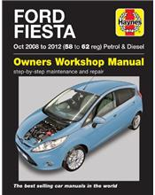 Ford Fiesta Petrol & Diesel 2008 - 2012 Haynes Owners Service & Repair Manual