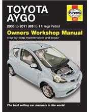 Toyota Aygo Petrol 2005 - 2011 Haynes Owners Service & Repair Manual