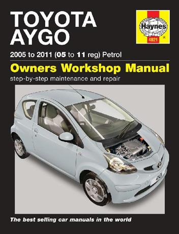 Toyota Aygo Petrol 2005 - 2011 Haynes Owners Service & Repair Manual - Front Cover