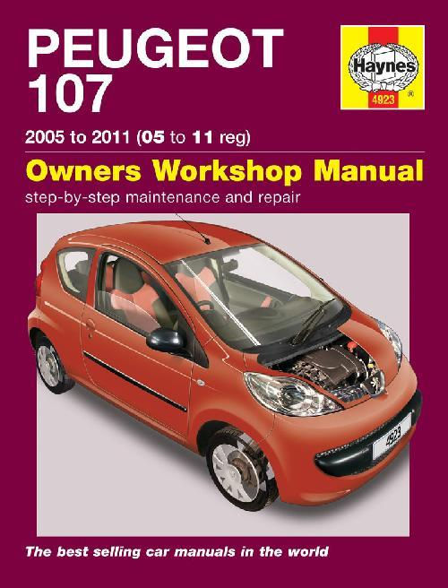 Peugeot 107 Petrol 2005 - 2011 Haynes Owners Service & Repair Manual