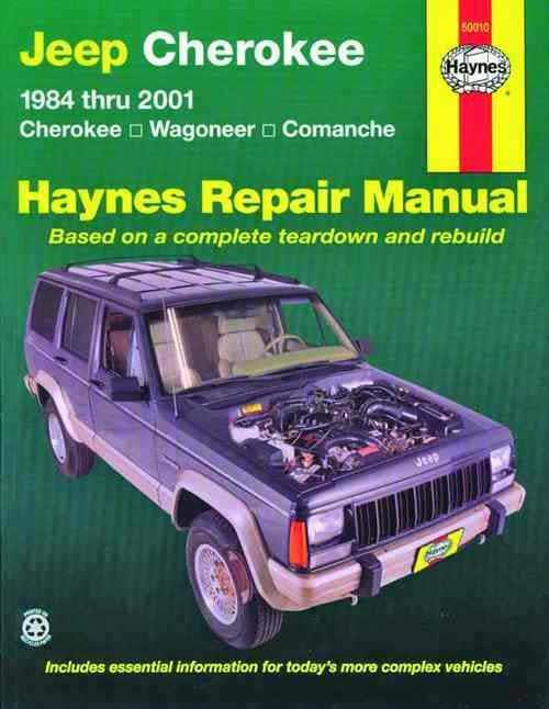 Jeep Cherokee, Wagoneer & Comanche 1984 - 2001 - Front Cover