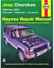 Jeep Cherokee, Wagoneer & Comanche 1984 - 2001