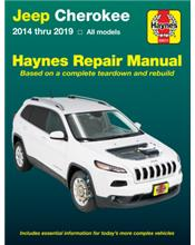 Jeep Cherokee 2014 - 2019 Haynes Owners Service & Repair Manual
