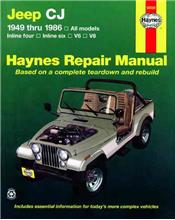 Jeep CJ 1949 - 1986 Haynes Owners Service & Repair Manual