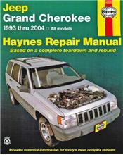 Jeep Grand Cherokee 1993 - 2004 Haynes Owners Service & Repair Manual