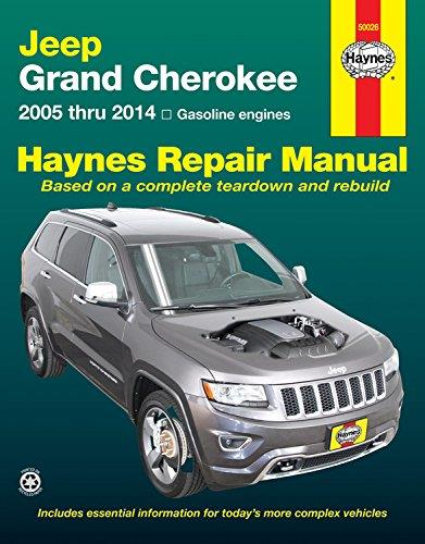 Jeep Grand Cherokee 2005 - 2014 Haynes Owners Service & Repair Manual - Front Cover