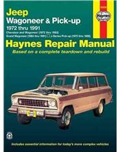 Jeep Wagoneer & Pick-up 1972 - 1991 Haynes Owners Service & Repair Manual