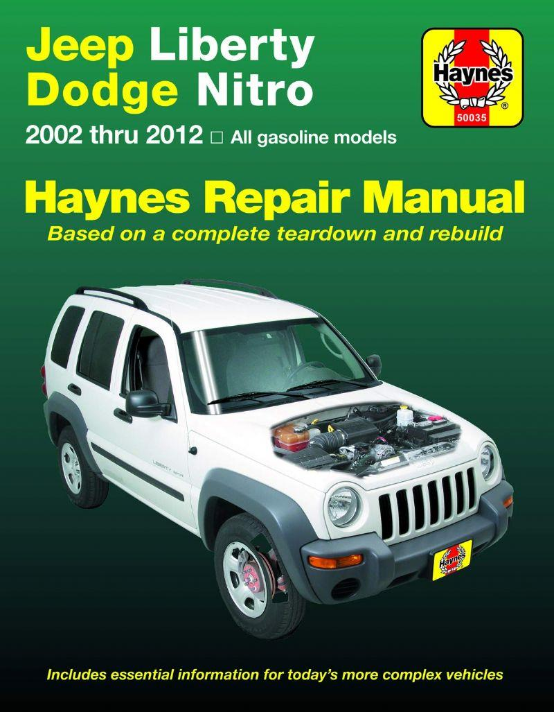 Jeep Liberty (Cherokee) 2002 - 2007 Haynes Owners Service & Repair Manual - Front Cover