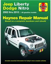 Jeep Liberty (Cherokee) 2002 - 2007 Haynes Owners Service & Repair Manual
