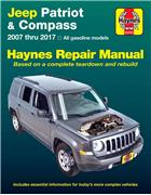 Jeep Patriot & Compass 2007 - 2017 Haynes Owners Service & Repair Manual (USA)