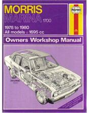Morris Marina 1700 1978-1980 (All models) Haynes Owners Service & Repair Manual