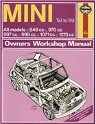 Mini 1959 - 1969 Haynes Owners Service & Repair Manual - Front Cover