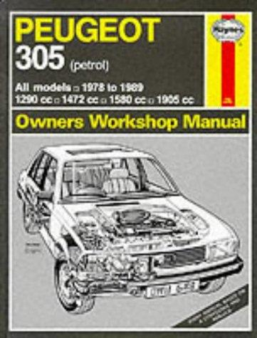 Peugeot 305 1978 - 1989 (Petrol) Haynes Owner's Workshop Manual