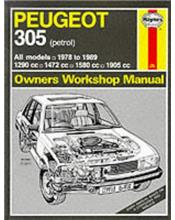 Peugeot 305 1978 - 1989 (Petrol) Haynes Owner's Workshop Manual