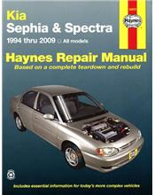 Kia Sephia & Spectra 1994 - 2009 Haynes Owners Service & Repair Manual