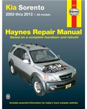 Kia Sorento Petrol 2003 - 2013 Haynes Owners Service & Repair Manual (USA)