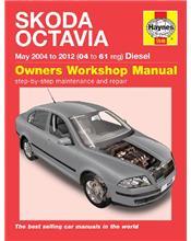 Skoda Octavia Diesel 2004 - 2012 Haynes Owners Service & Repair Manual