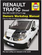 Renault Trafic Diesel 2001 - 2011 Owners Workshop Manual - Front Cover