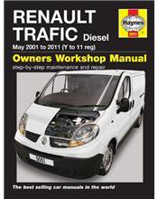 Renault Trafic Diesel 2001 - 2011 Owners Workshop Manual