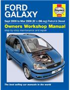 Ford Galaxy MPV Petrol & Diesel 2000- 2006 Haynes Owners Service & Repair Manual