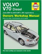 Volvo V70 Diesel 2007 - 2012 Haynes Owners Service & Repair Manual