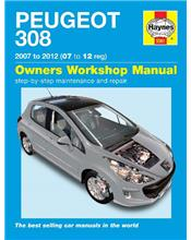 Peugeot 308 (Petrol & Diesel) 2007 - 2012 Haynes Owners Service & Repair Manual