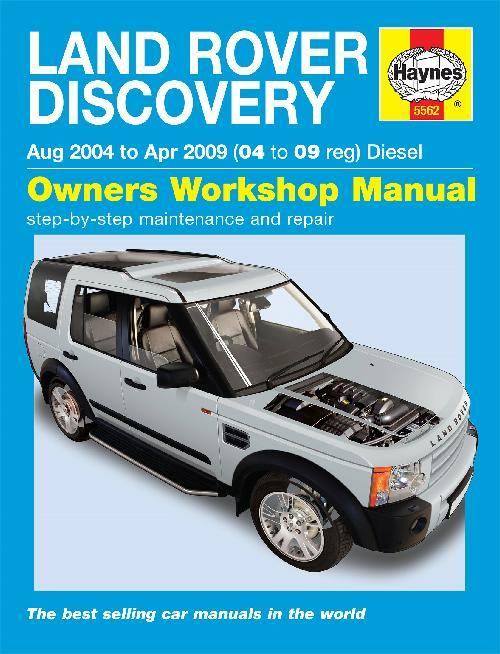 Land Rover Discovery (Series 3) Diesel 2004 - 2009 - Front Cover
