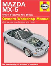 Mazda MX-5 1989 - 2005 Haynes Owners Service and Repair Manual