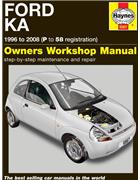 Ford Ka 1996 - 2008 Haynes Owners Service & Repair Manual