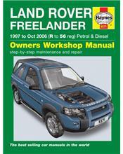 Land Rover Freelander (Petrol & Diesel) 1997 - 2006